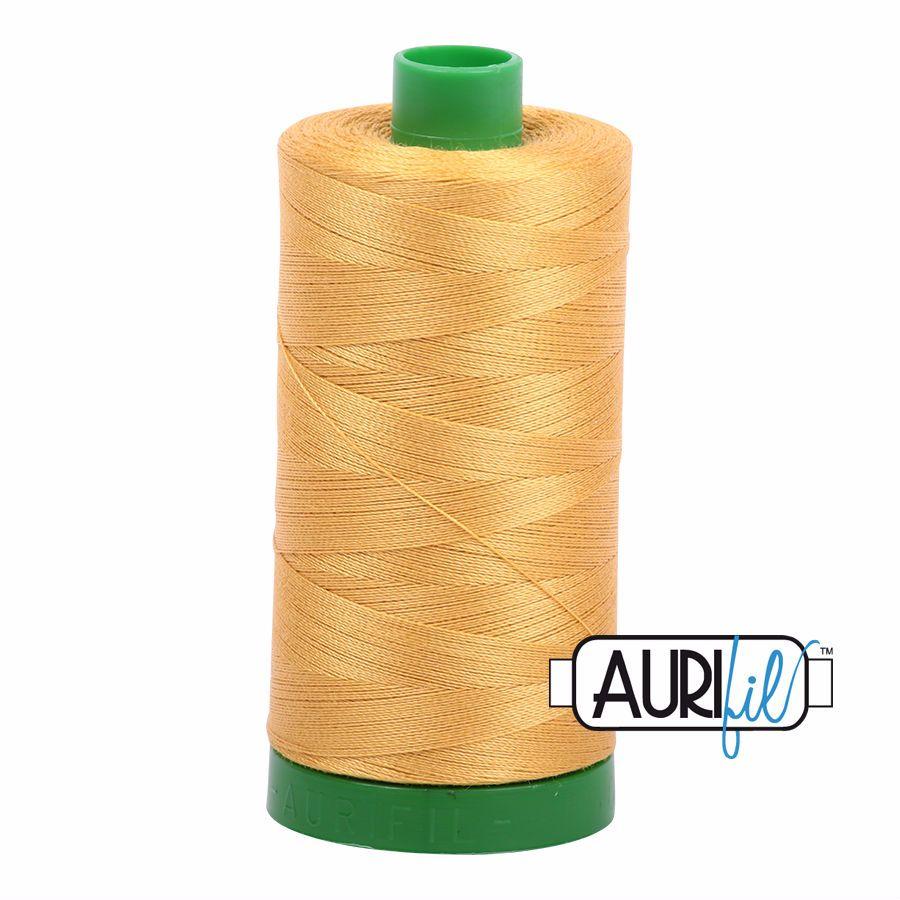 Aurifil Cotton 40wt, 2132 Tarnished Gold