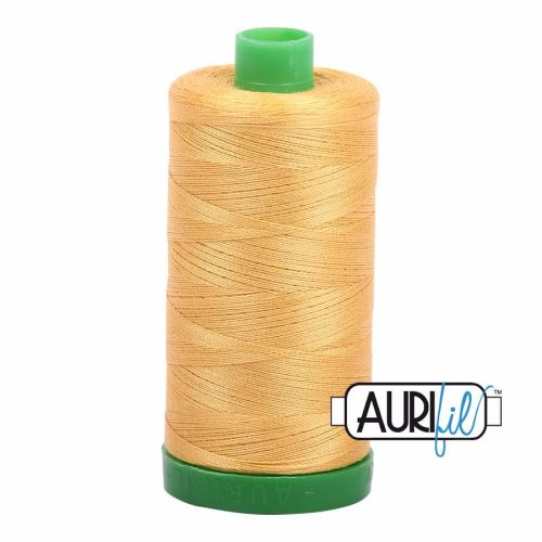 Aurifil Cotton 40wt, 2134 Spun Gold