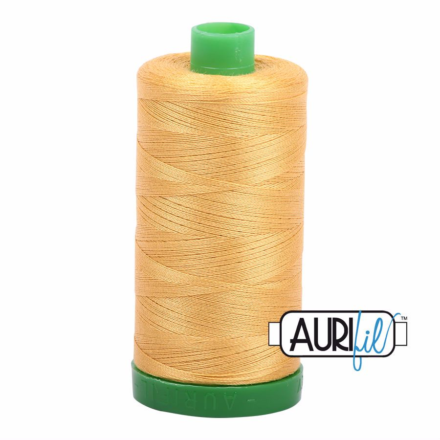 Aurifil Cotton 40wt, 2134 Spun Gold