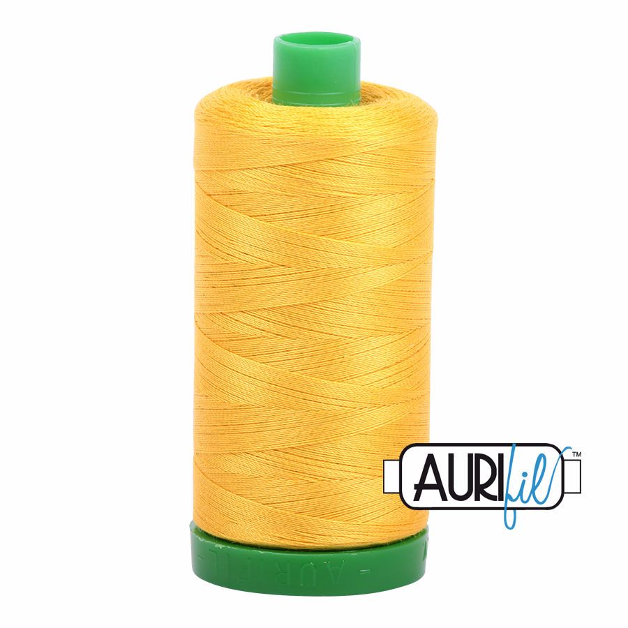 Aurifil Cotton 40wt, 2135 Yellow