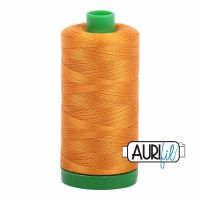 Aurifil Cotton 40wt, 2145 Yellow Orange