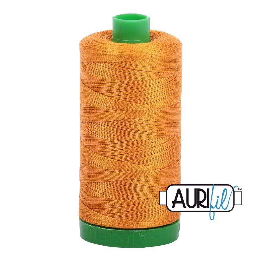 Aurifil Cotton 40wt, 2145 Yellow Orange