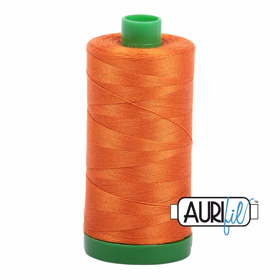 Aurifil Cotton 40wt, 2150 Pumpkin