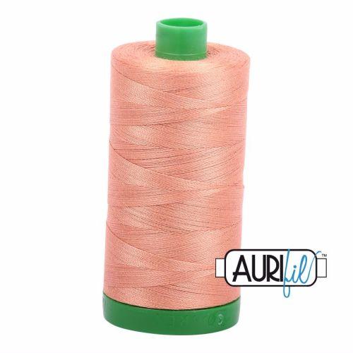 Aurifil Cotton 40wt, 2215 Peach