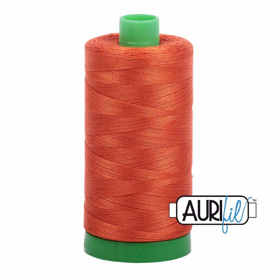 Aurifil Cotton 40wt, 2240 Rusty Orange