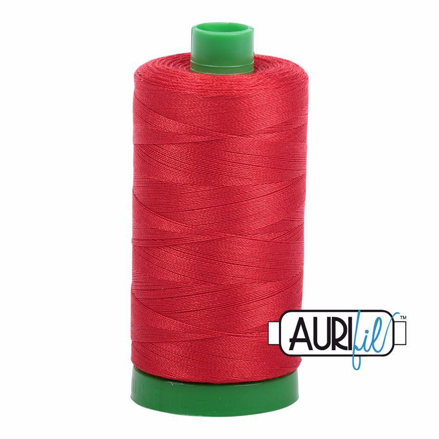 Aurifil Cotton 40wt, 2270 Paprika