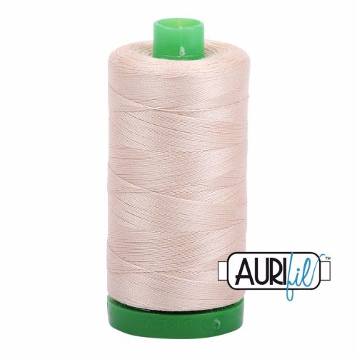 Aurifil Cotton 40wt, 2312 Ermine