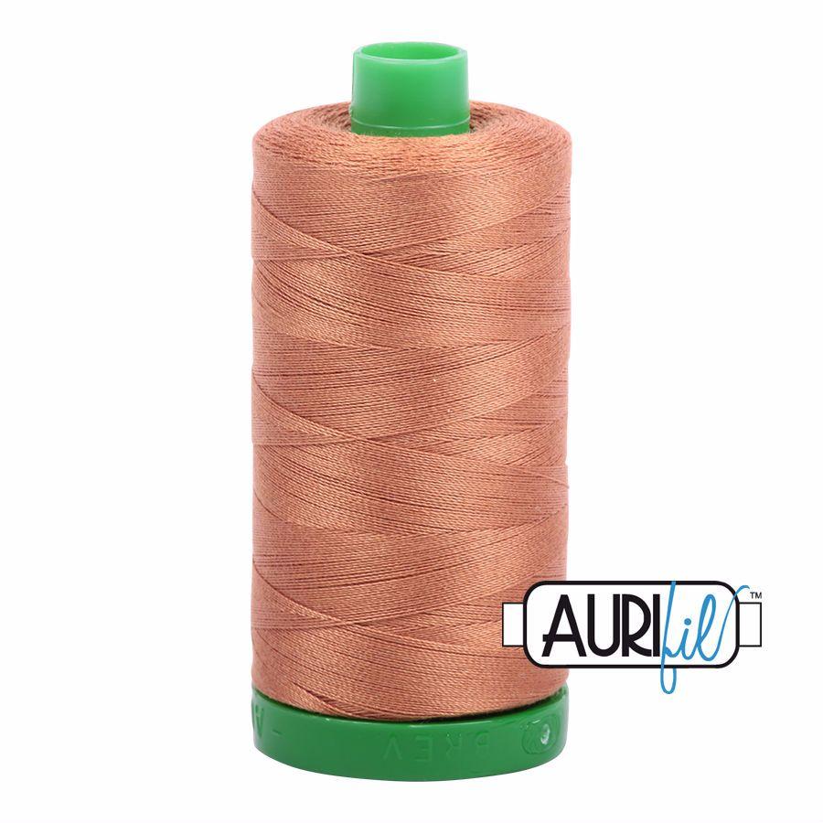 Aurifil Cotton 40wt, 2330 Light Chestnut