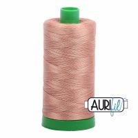 Aurifil Cotton 40wt, 2335 Light Cinnamon