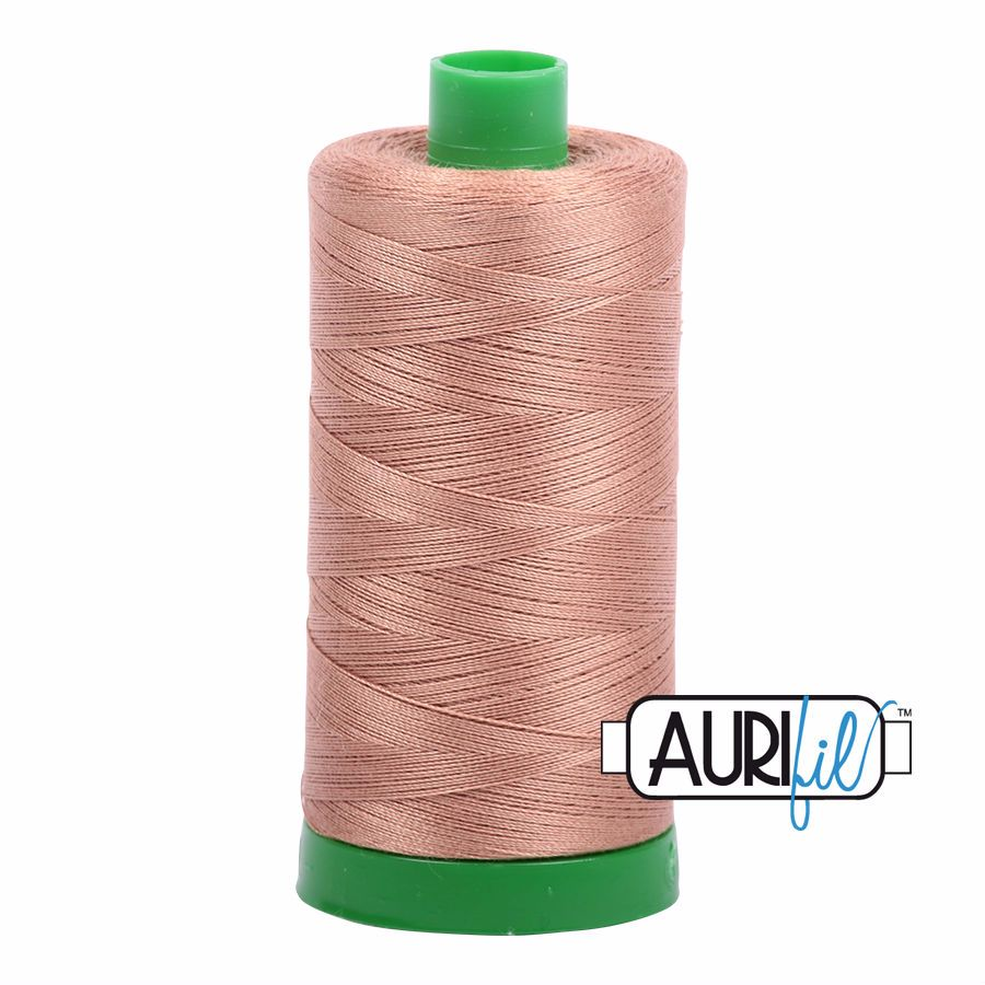 Aurifil Cotton 40wt, 2335 Light Cinnamon