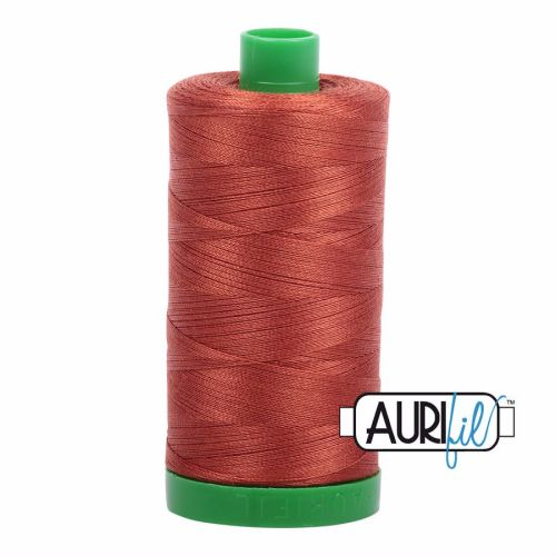 Aurifil Cotton 40wt, 2350 Copper
