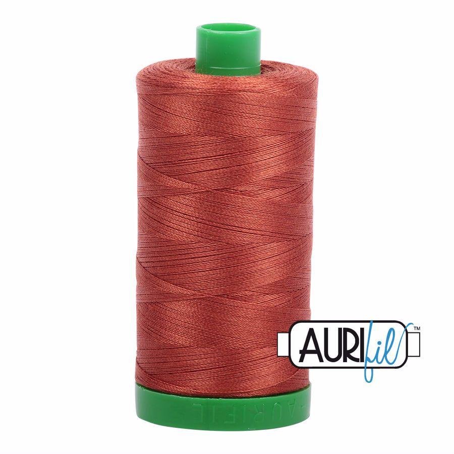 Aurifil Cotton 40wt, 2350 Copper
