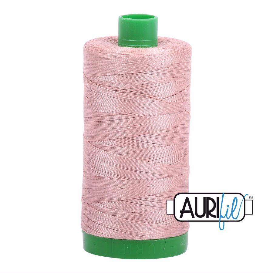 Aurifil Cotton 40wt, 2375 Antique Blush