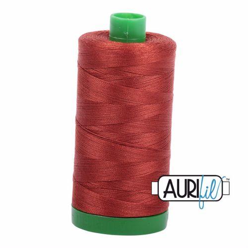 Aurifil Cotton 40wt, 2385 Terracotta