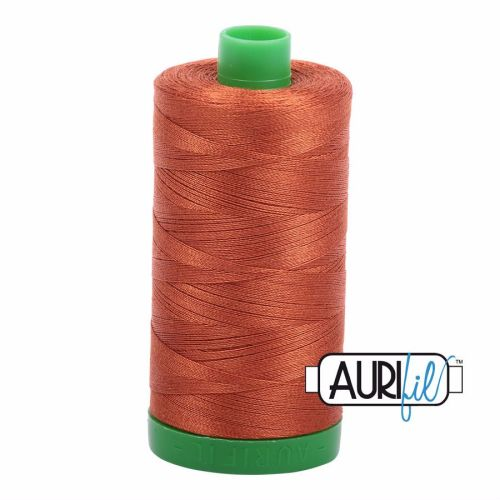 Aurifil Cotton 40wt, 2390 Cinnamon Toast