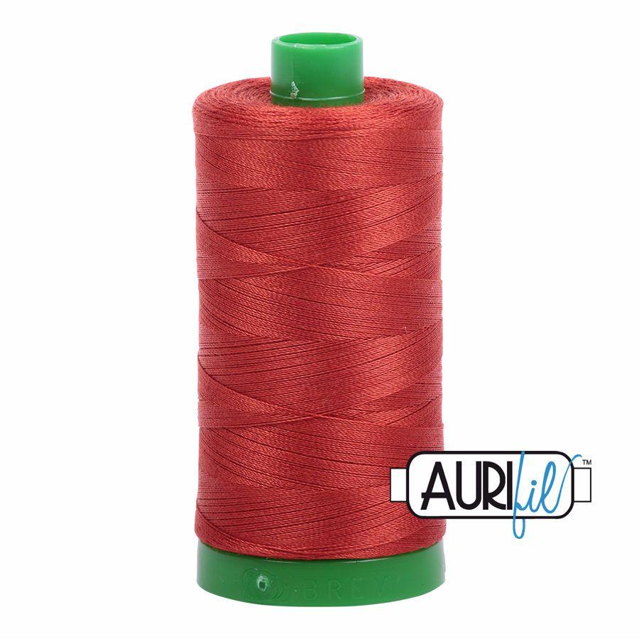 Aurifil Cotton 40wt, 2395 Pumpkin Spice