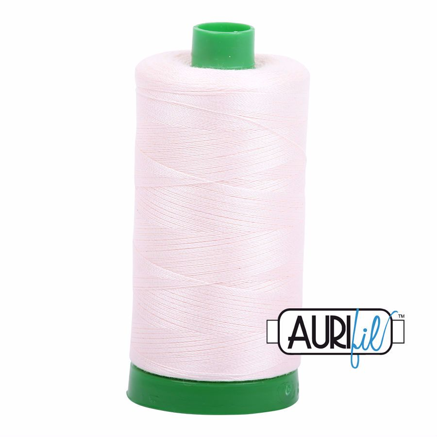 Aurifil Cotton 40wt, 2405 Oyster