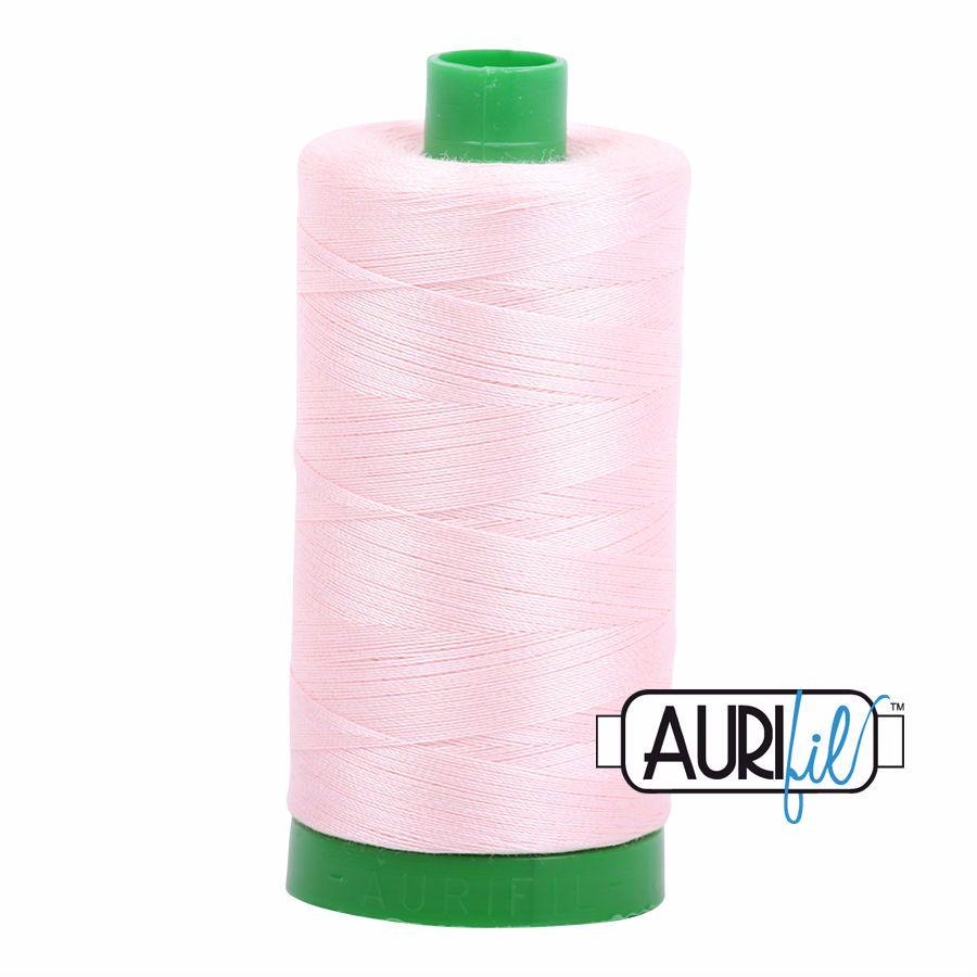 Aurifil Cotton 40wt, 2410 Pale Pink