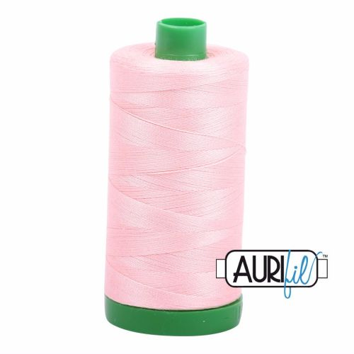 Aurifil Cotton 40wt, 2415 Blush