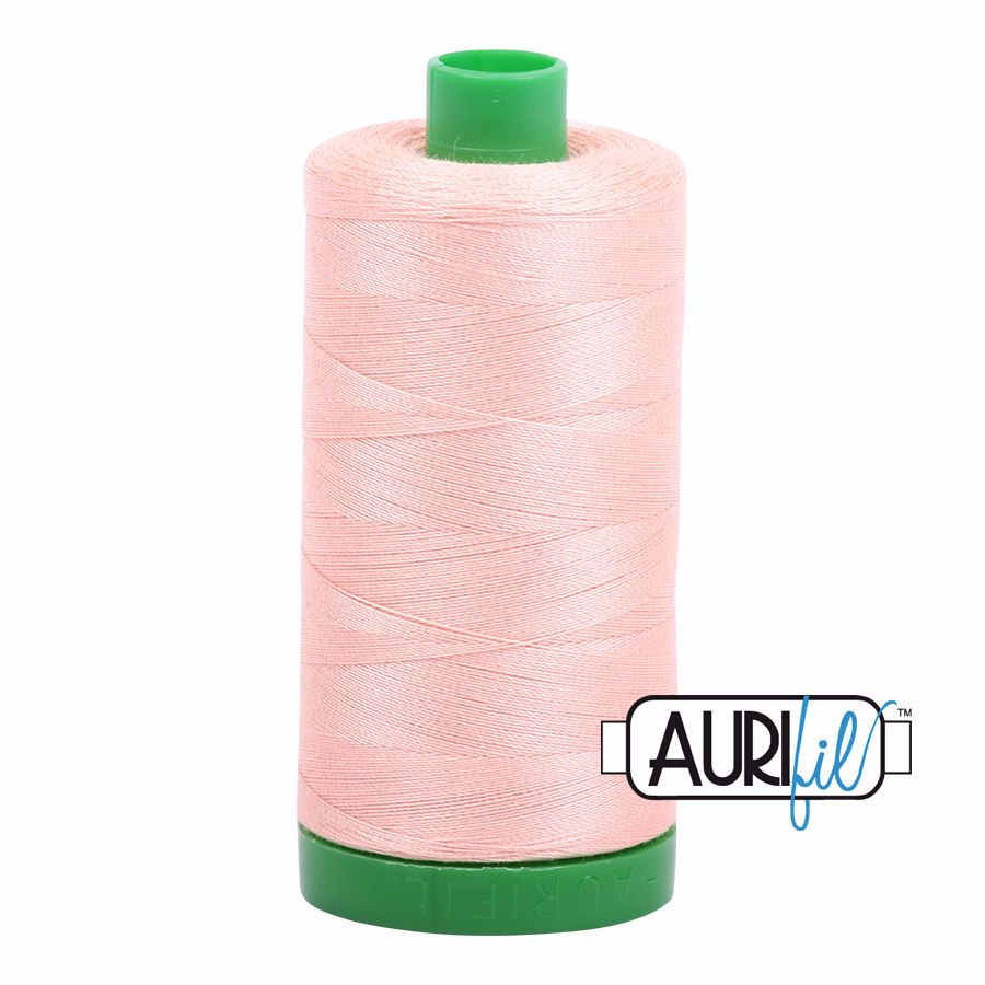 Aurifil Cotton 40wt, 2420 Blush