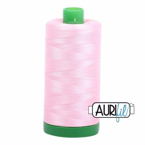 Aurifil Cotton 40wt, 2423 Baby Pink