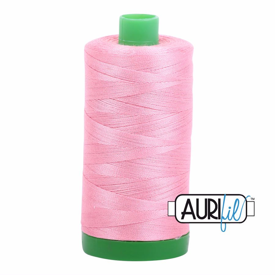 Aurifil Cotton 40wt, 2425 Bright Pink