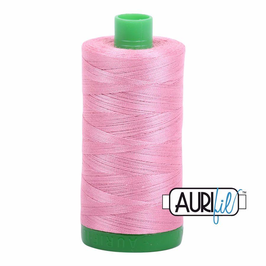 Aurifil Cotton 40wt, 2430 Antique Rose