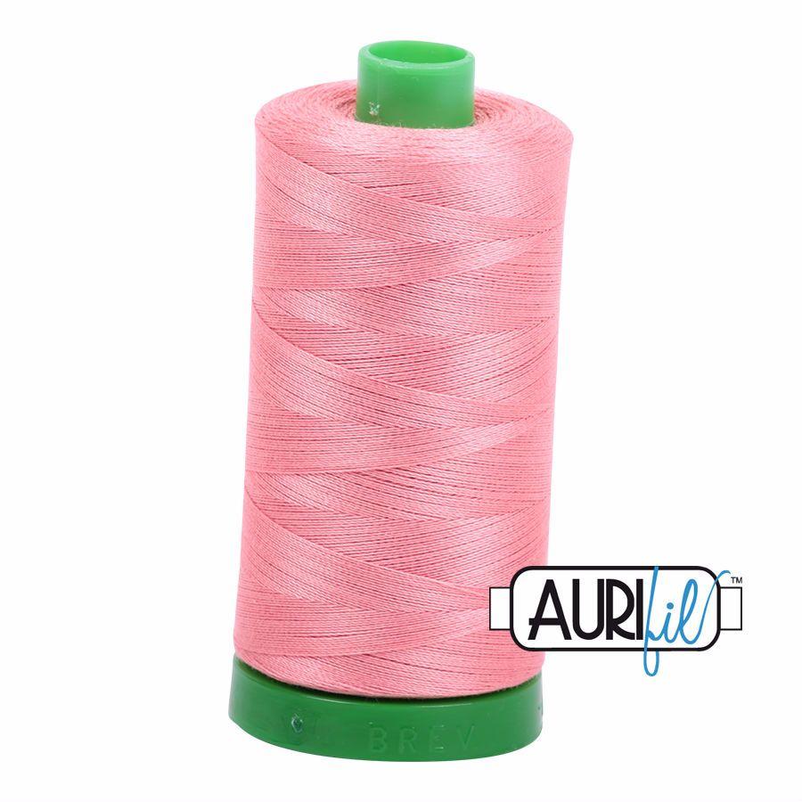 Aurifil Cotton 40wt, 2435 Peachy Pink