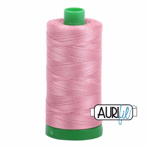Aurifil Cotton 40wt, 2445 Victorian Rose
