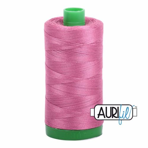 Aurifil Cotton 40wt, 2452 Dusty Rose