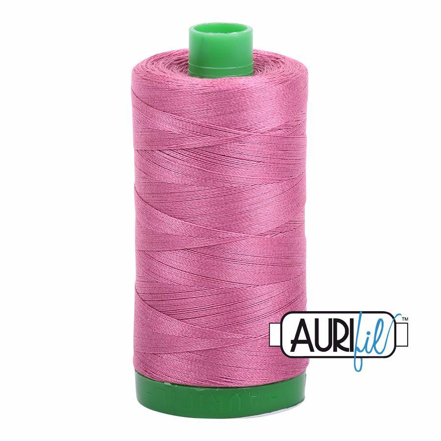 Aurifil Cotton 40wt, 2452 Dusty Rose
