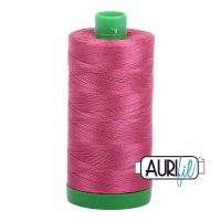 Aurifil Cotton 40wt, 2455 Medium Carmine Red