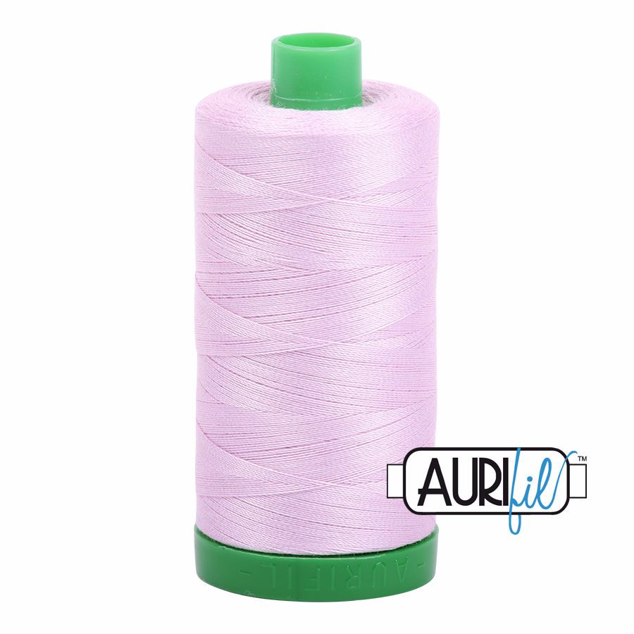 Aurifil Cotton 40wt, 2510 Light Lilac