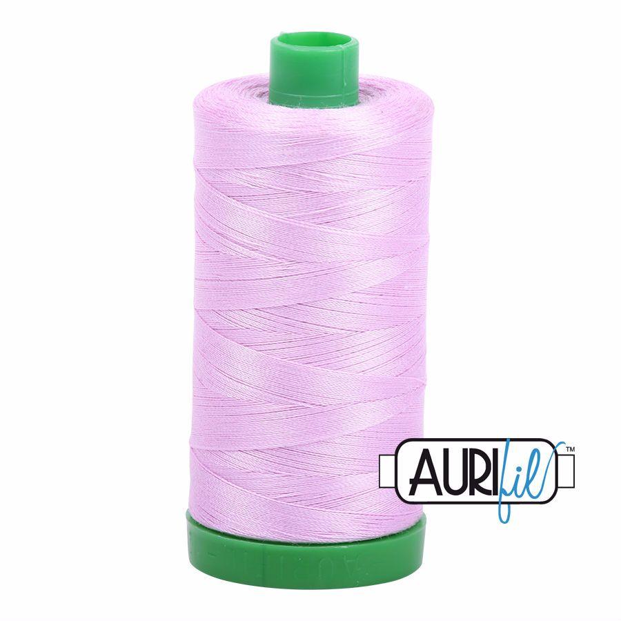 Aurifil Cotton 40wt, 2515 Light Orchid