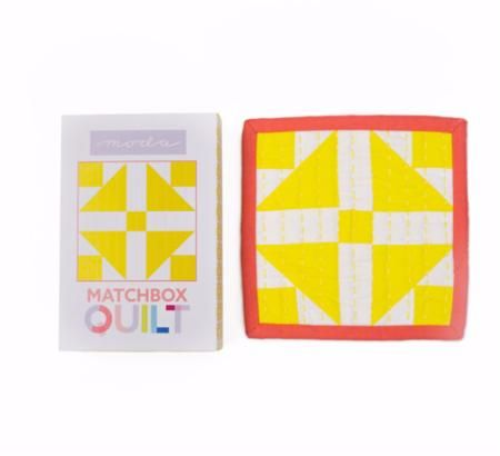 Moda Matchbox Quilt Kit - Design No.2 - Yellow