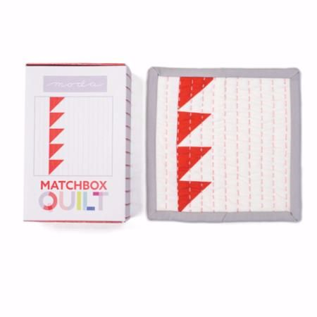 Moda Matchbox Quilt Kit - Design No.6 - Red