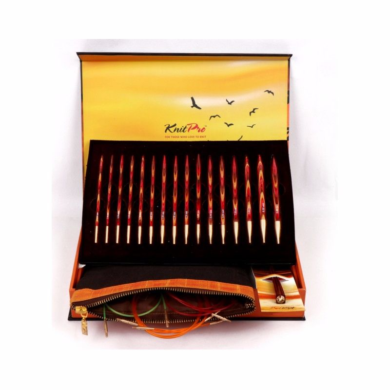 Knit Pro - 'The Golden Light' Interchangeable Knitting Needle Set