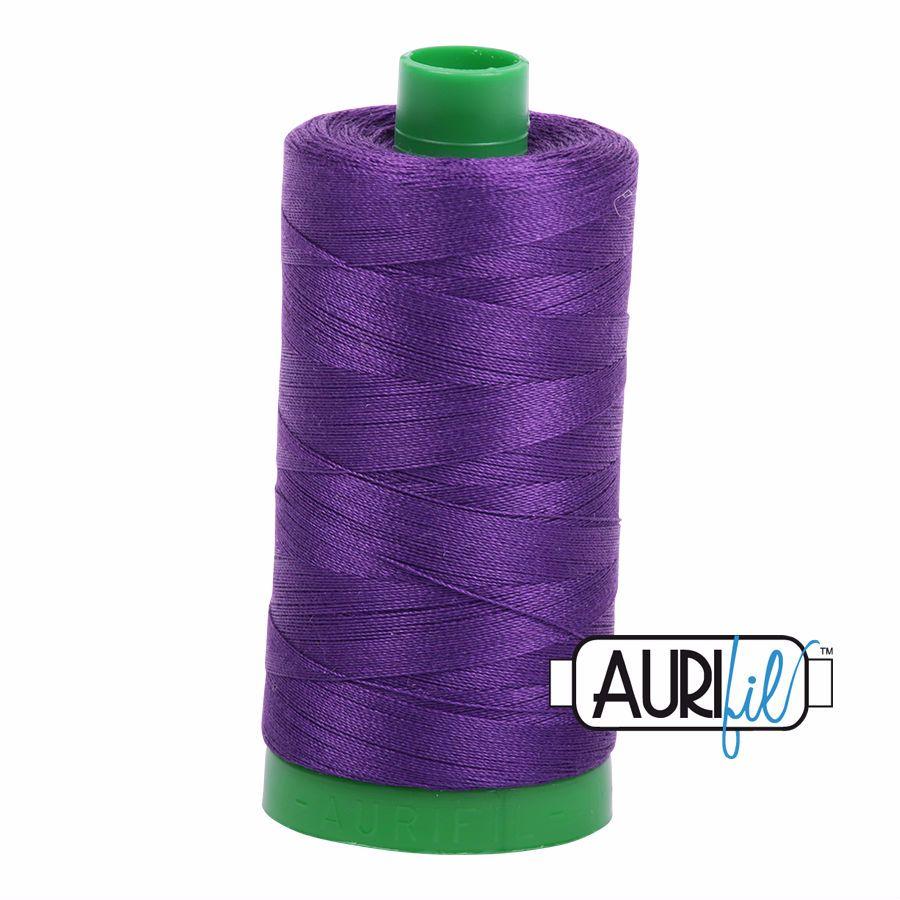 Aurifil Cotton 40wt, 2545 Medium Purple