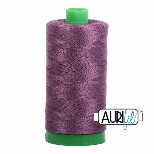 Aurifil Cotton 40wt, 2568 Mulberry