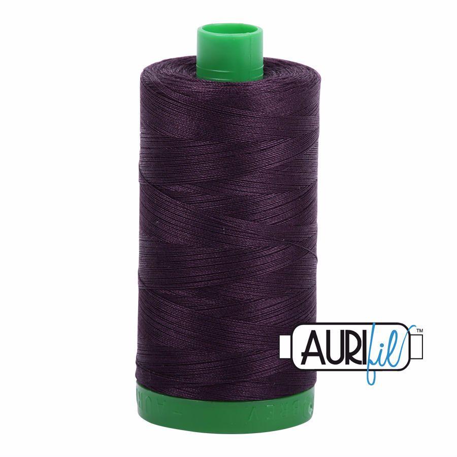 Aurifil Cotton 40wt, 2570 Aubergine
