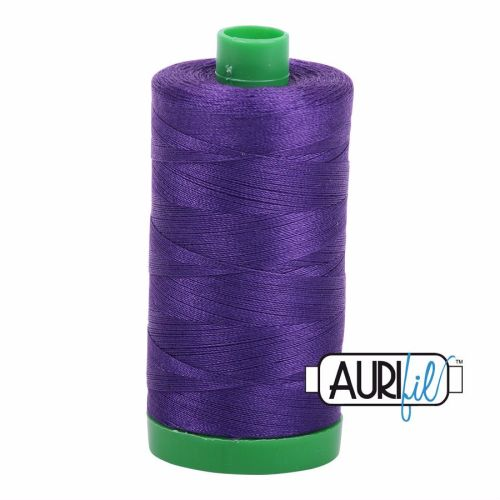 Aurifil Cotton 40wt, 2582 Dark Violet