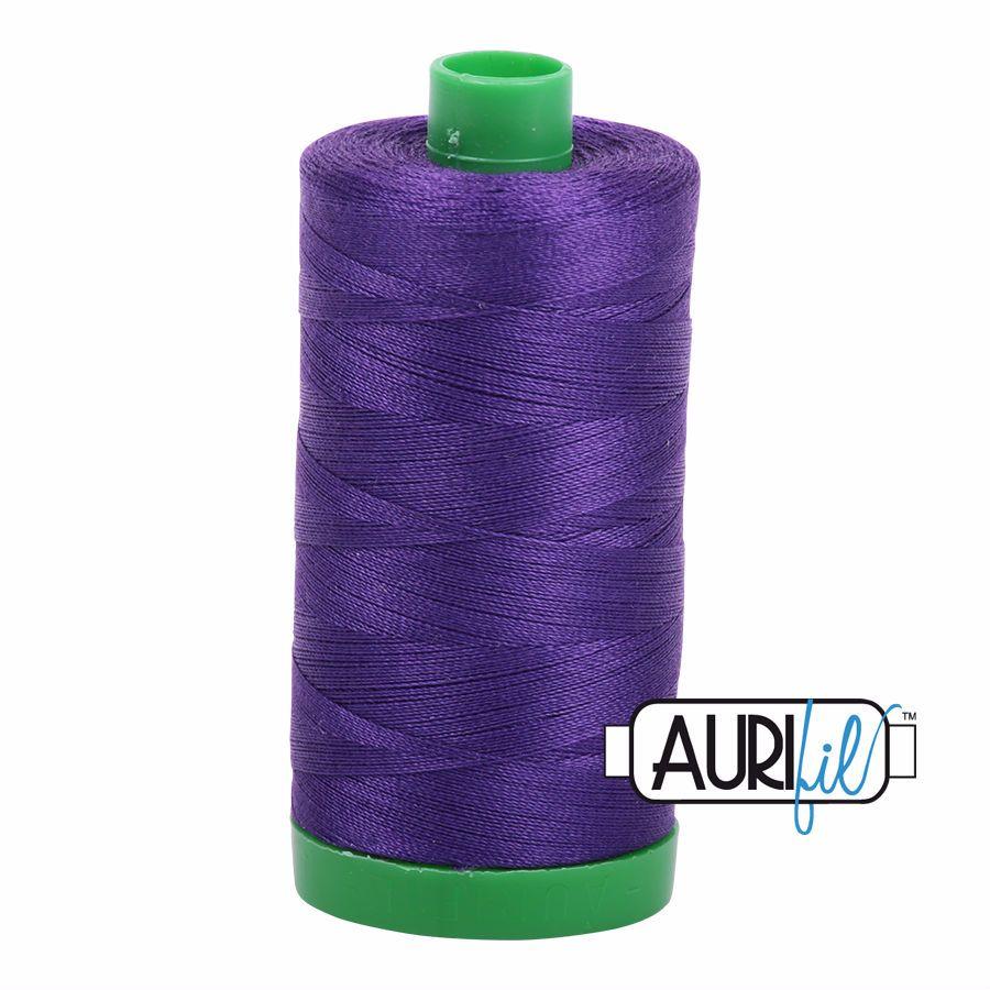 Aurifil Cotton 40wt, 2582 Dark Violet