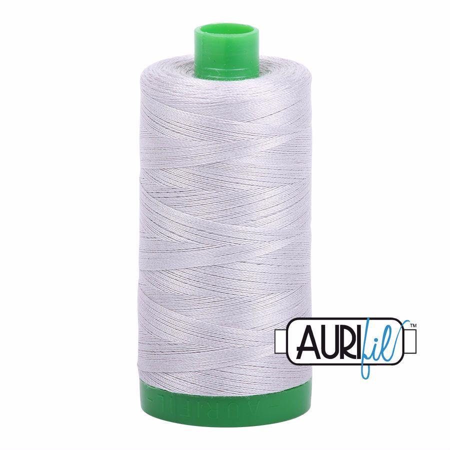 Aurifil Cotton 40wt, 2615 Aluminium