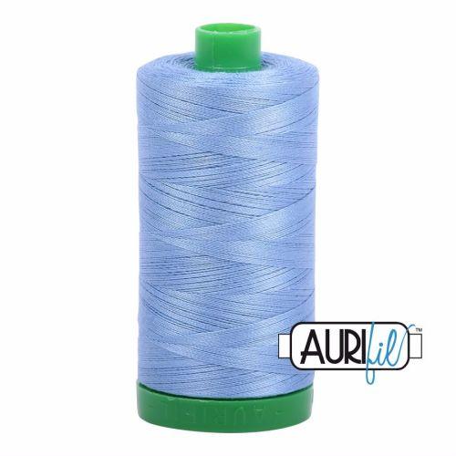 Aurifil Cotton 40wt, 2720 Light Delft Blue