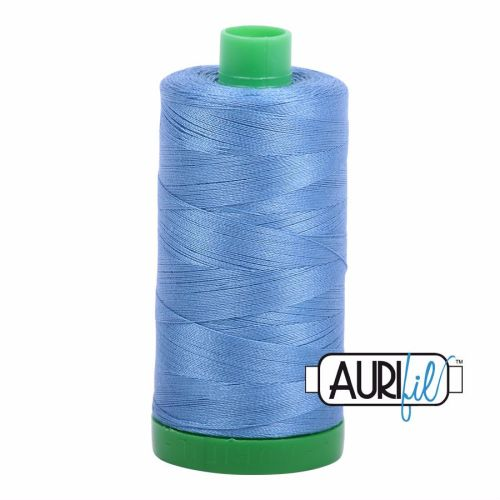 Aurifil Cotton 40wt, 2725 Light Wedgewood