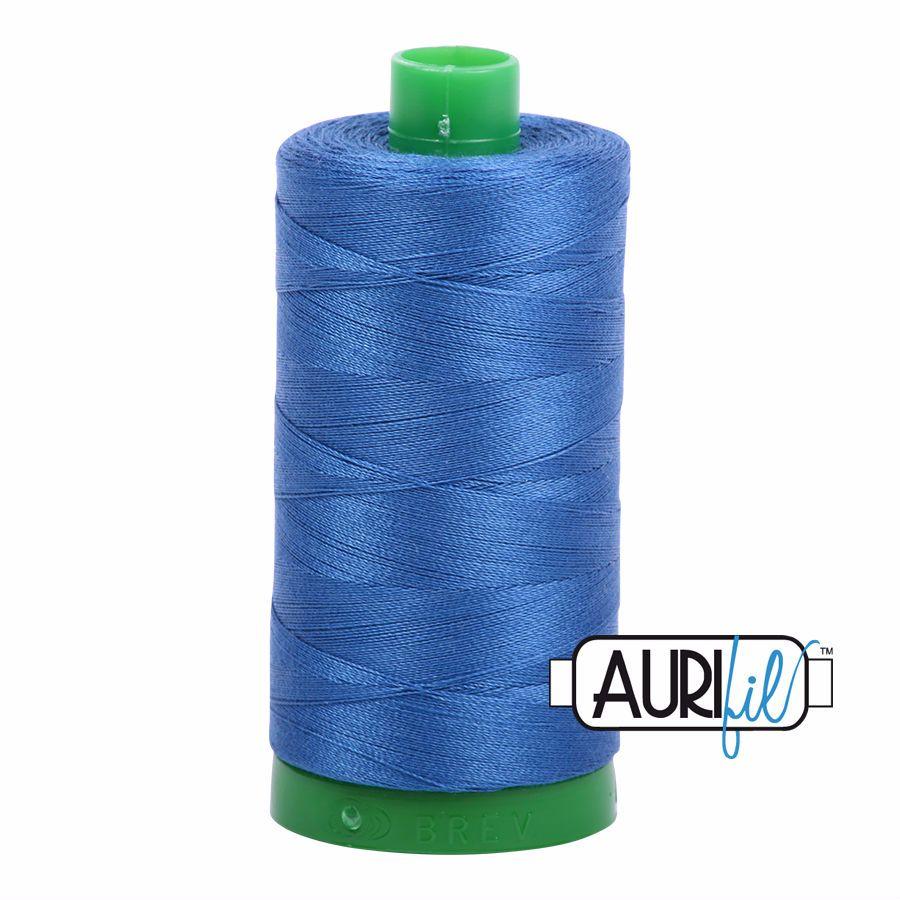 Aurifil Cotton 40wt, 2730 Delft Blue