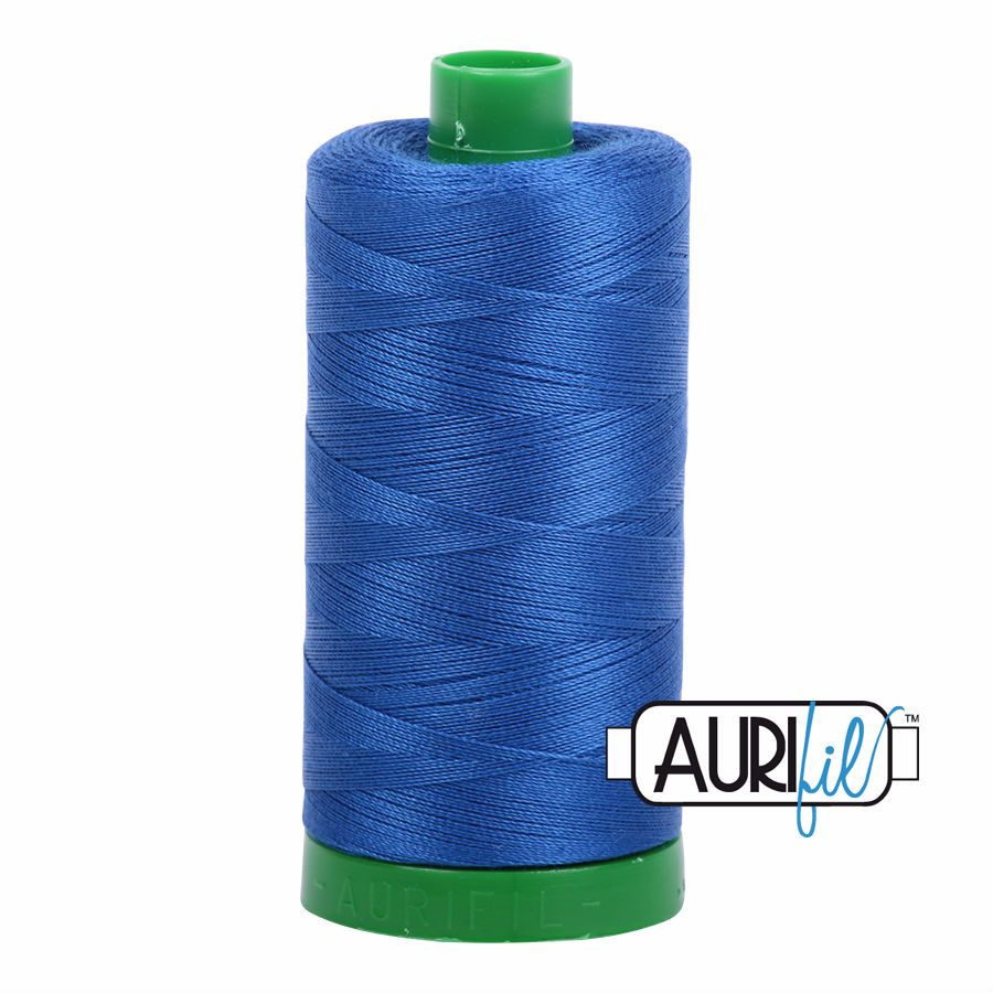 Aurifil Cotton 40wt, 2735 Medium Blue