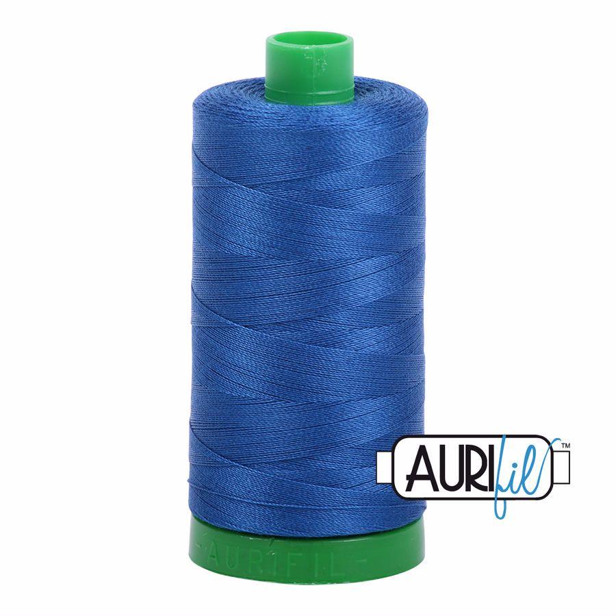 Aurifil Cotton 40wt, 2740 Dark Cobalt