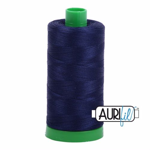 Aurifil Cotton 40wt, 2745 Midnight