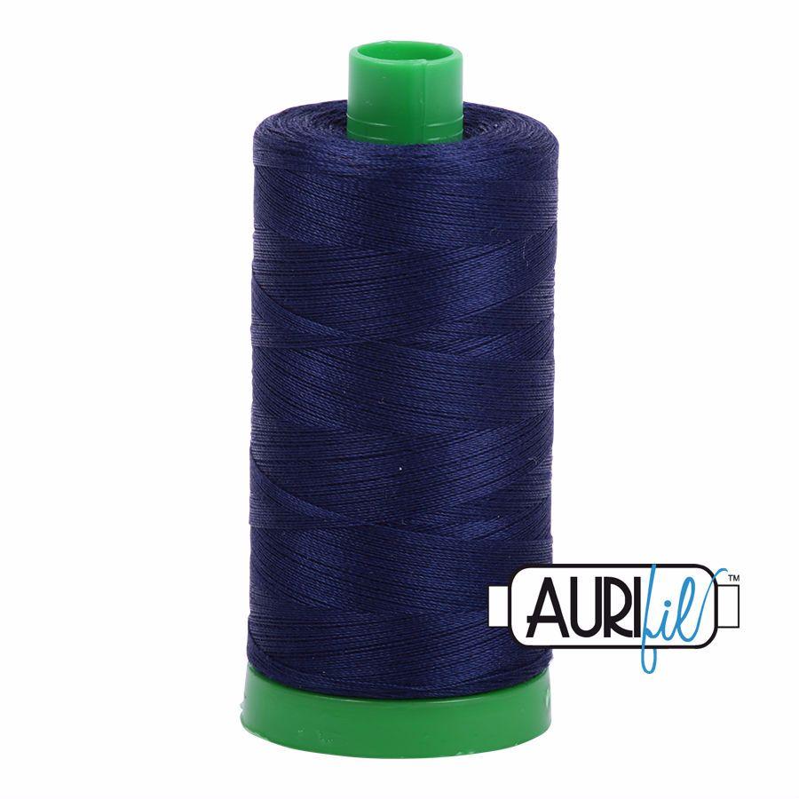 Aurifil Cotton 40wt, 2745 Midnight
